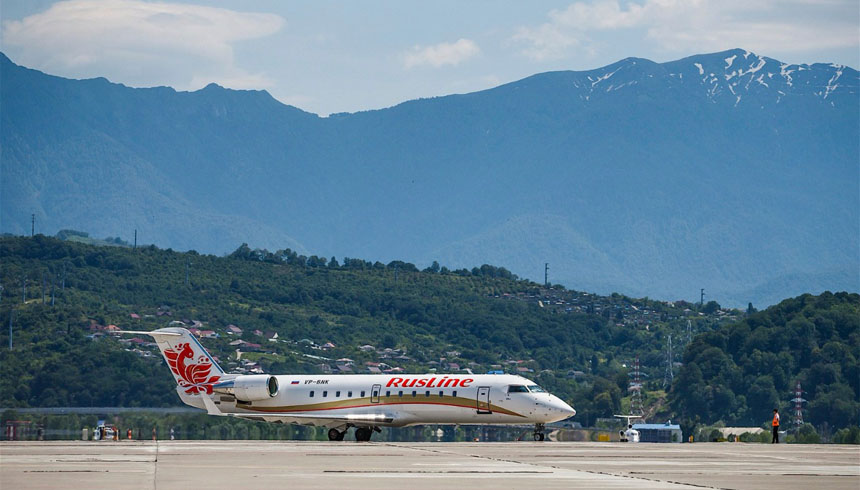 Load capacity on the flights from Voronezh to Sochi lays by over 85%