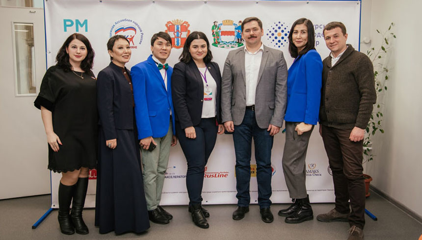 «RusLine» is a partner of the opening of International Youth Movement «Friendship Volunteers» in Omsk